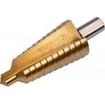 Grąžtas skylės (pa) platinimui pakopinis 10-30mm (YT-44746)