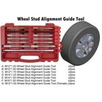 Varžtų/kaiščių-laikiklių rinkinys ratų montavimui ar lyginimui 14vnt. (HF0302A)
