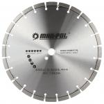 Deimantinis pjovimo diskas 350x12,5x25.4mm, betonui (M08775)