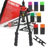 Kniediklis srieginėms kniedėms | lagaminas | M3-M12 | 410 mm (M49572V)