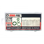 Guminių tarpinių rinkinys klimatizacijai 270vnt. (M66450)