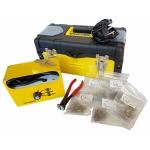 Plastiko remonto sistema/prietaisas | + 600 vnt kniedžių (HS08A)