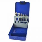 Kūginių grąžtų/frezų rinkinys | HSS | DIN 335 | 90° | 6 vnt. (SK1628)
