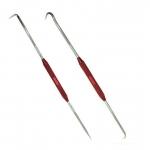 Kabliukų rinkinys | dvipusiai | žiedų / šlangelių / spyruoklių nuėmimui | 220 mm | 2 vnt. (SK32942)