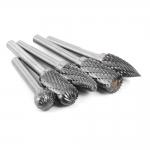 Volframo karbido deimantinių frezų rinkinys | galvutės dydis - 10 mm | 10 vnt. (SK8998)