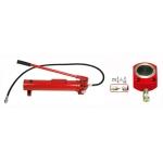 Stūmimo cilindras 50t (12mm) ir hidraulinė pompa (TL1407S1)
