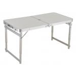 Sulankstomas stalas / prekystalis | aliuminis | kvadratinis vamzdis | reguliuojamas aukštis (LC02)
