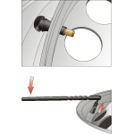 Ventilio į ratlankį įstatymo įrankis 292 mm (YT-0619)