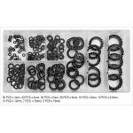 Antivibracinių poveržlių rinkinys | Mix / 3 - 19 mm | 200 vnt. (YT-06863)