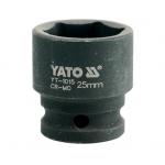 "Galvutė smūginė 25 mm 1/2"" (YT-1015)"