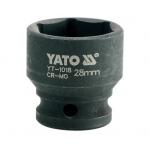 "Galvutė smūginė 28 mm 1/2"" (YT-1018)"