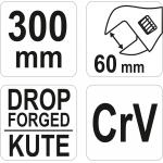 Raktas reguliuojamas | 300 mm (YT-21658)