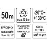 Sriegio hermetizavimo siūlas | 50 m (YT-29220)