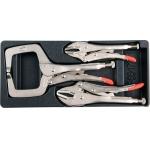 Įrankių rinkinys į vežimėlius - fiksuojamų replių rinkinys 3vnt. (YT-55472)