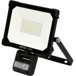 Šviesos diodų lempa / prožektorius | su judesio davikliu | SMD LED 30W 3000LM (YT-81828)