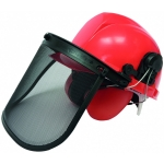 Šalmas su veido apsauga ir ausinėmis (3641)