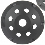 Šlifavimo diskas 125x22,2mm, PCD, RAPID (M08797)