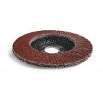 Šlifavimo diskas lapelinis išgaubtos formos P120 125X22,2mm (ES814120)