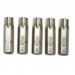 "Antgalis TORX  1/4"" (6.3mm), 5vnt. - T10 x 25mm(S59232)"