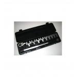 Dinamometrinių raktų rinkinys 12d. 1/2` fiksuojamas 40 Nm 210 Nm L-575mm (64705)