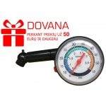 DOVANA! Automobilio padangų oro manometras 0 - 3,5 bar (G01270)