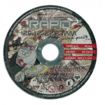 Pjovimo diskas  125xx1.2x22.2mm (M08250)