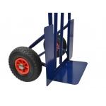 Transportavimo vėžimėlis 200kg, 400x200mm (mėlynas) (G71100)