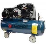 Oro kompresorius stūmoklinis 2 cilindrų 100l 220V 2.2kW 311l/min 1020rpm 10bar (TB265-100)