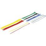 Kabelių jungčių asortimentas | spalvoti | 4.8 x 300 mm | 50 vnt. (80771)