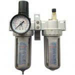 Oro srauto reguliatorius 1/2 su filtru ir tepaline (AFRL804)