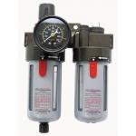 "Oro srauto reguliatorius 1/2"" su filtru ir tepaline (CA603)"