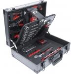 Įrankių komplektas su aliuminiu lagaminu | 66 vnt. (6057)