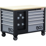 Įrankių vežimėlis    2x 5 stalčiai   1 spintelė   tuščia (4199)