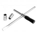 """Rato raktas 1/2"""" su galvutėmis 17-19, 21-23mm (CL305501)"""