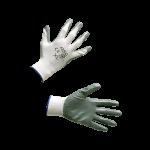 Nailoninės darbo pirštinės dengtos guma (KD609)
