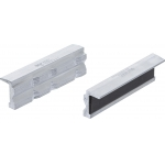 Spaustuvų lūpų apsaugos | Aliuminės | 100 mm | 2 vnt. (6796)