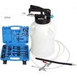 Pneumatinis tepalo užpylimo ir išsiurbimo įrenginys su ATF adapteriais | 8 L | 15 vnt. (FD8L)