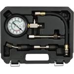 Kompresijos matuoklis benzininis | su antgaliais (YT-73011)